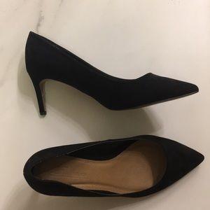 ASOS suede black heel